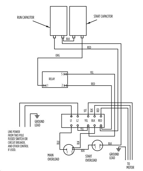 franklin electric well box wiring diagram