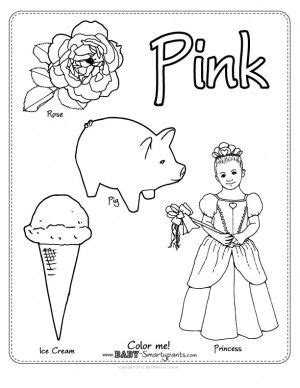 Coloring The O Jays And Coloring Pages On Pinterest | color pink worksheet everything preschool pinterest