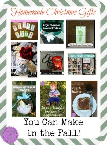 homemade christmas gifts you can make now