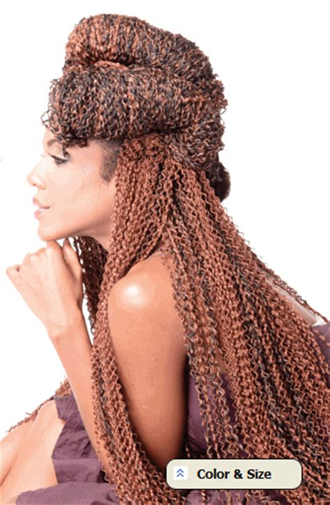 ican i dye bijoux realistic hair bijoux realistic synthetic hair micro knot s curl braid