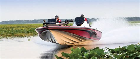aluminum bass boat rough water the hull story boating world