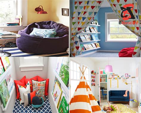 Furnish Your Home kids nook ideas creating secrete reading corner for your kids