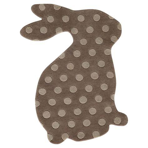 rabbit rug rabbit child s rug maisons du monde