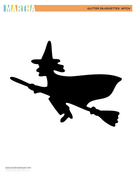 witch silhouette template 56 best stencils images on