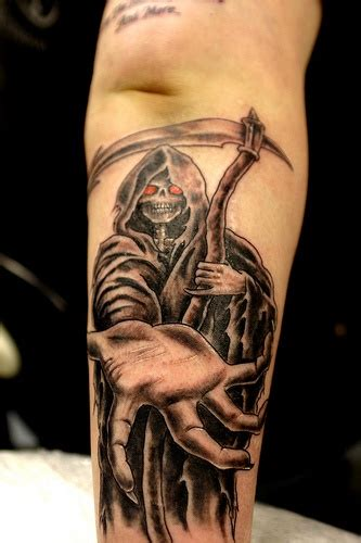 tattoo on hand death take my hand death tattoo tattooimages biz