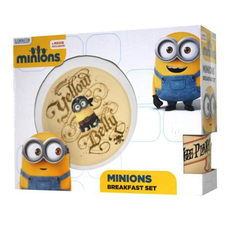 Set Minion minions mealtime sets various ebay