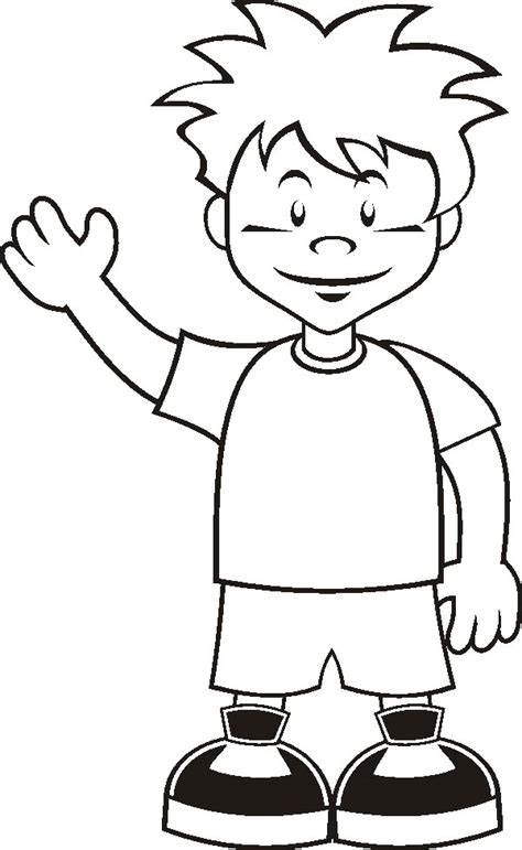Boy Coloring Pages 2 Coloring Pages To Print Boy And Coloring Page Printable