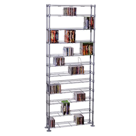 Multimedia Shelf by Atlantic Maxsteel Series 12 Shelf Multimedia Storage Rack