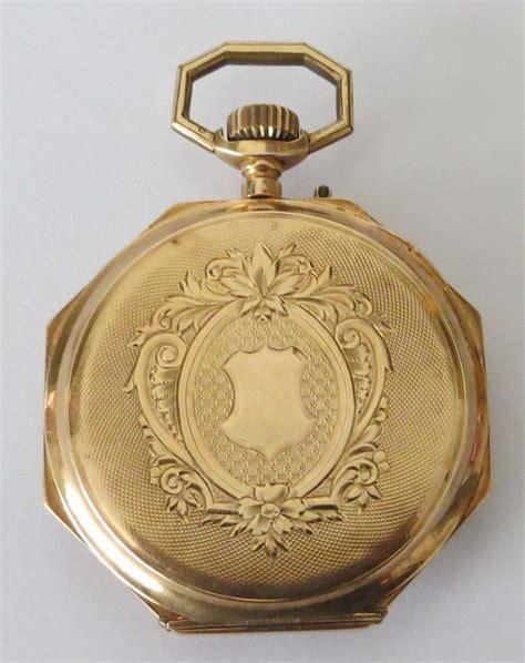 pocket mens antique gold catawiki
