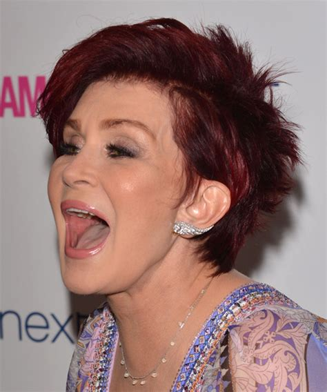 back view of sharon osbourne haircut sharon osbourne hairstyles in 2018