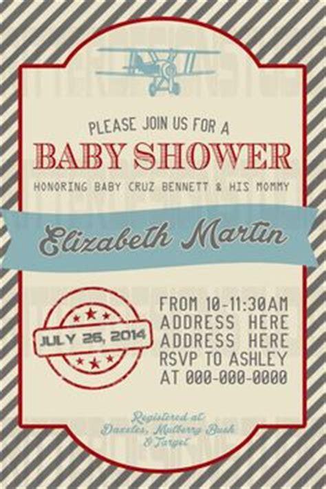 Airplane Baby Shower Invitations Cimvitation Airplane Baby Shower Invitation Templates