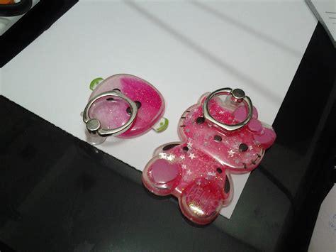 Iring Glitter Water Karakter Ring Stand Hp Universal Holder Cincin 360 ringstand iring water glitter lumbung acc sby grosir supplier importir acc hp speaker