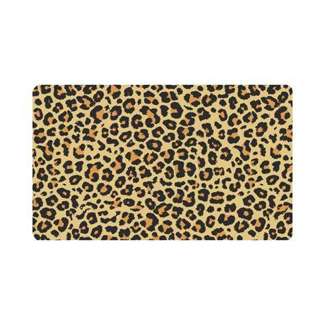 Leopard Doormat by Mkhert Animal Leopard Skin Print Doormat Rug Home