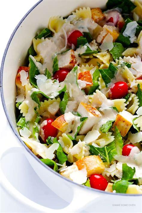 Gimme Some Oven Detox Salad by Chicken Caesar Pasta Salad Gimme Some Oven Bloglovin