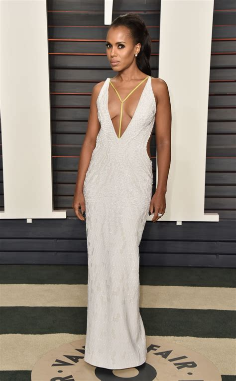 Vanity Fair Oscars by Kerry Washington At Vanity Fair Oscar 2016 In