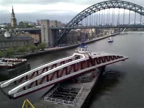 newcastle swing bridge opening youtube