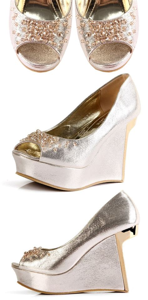 Wedding Wedges For Bridesmaids by Wedding Wedges For Bridesmaids Wardrobelooks
