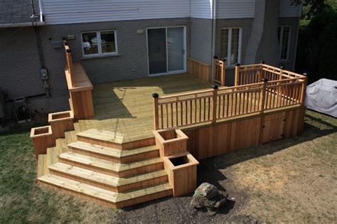 Designer Decks And Patios Patio And Deck Together Design Search Deck Landscape Ideas Decking