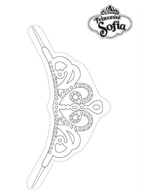 sofia the crown template sofia the tiara template invitation templates