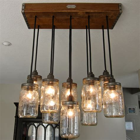 Chandelier Lighting Fixtures 18 Diy Jar Chandelier Ideas Guide Patterns