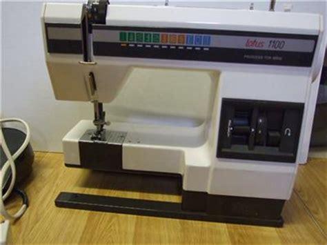 elna lotus 1000 elna lotus 1100 sewing machine