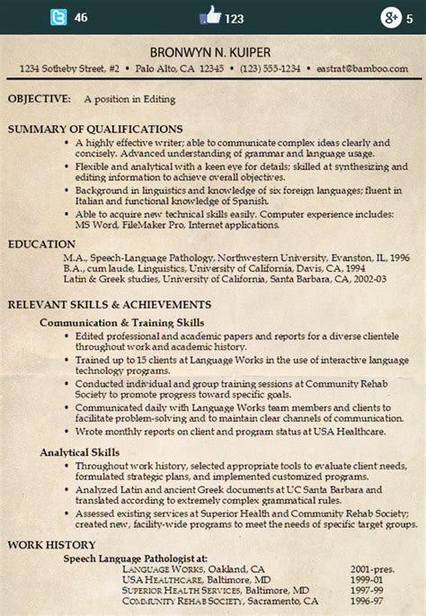 Find Out What Is A Chrono Functional Resume Here Chrono Functional Resume Template