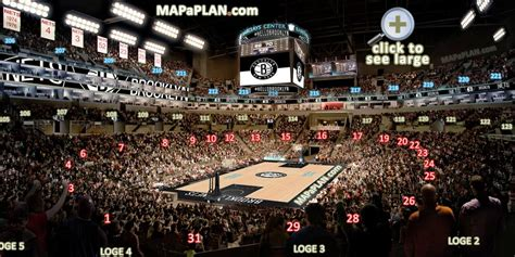 barclays center view from seats barclays center seating chart 3d views seat row numbers