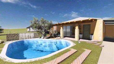 piscina di casate progetto di casa con piscina