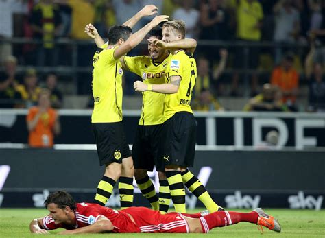 wann spielt bvb gegen bayern supercup bvb holt nach 4 2 gegen bayern ersten titel der