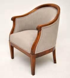 antique armchairs pair of antique swedish satin birch armchairs antiques atlas