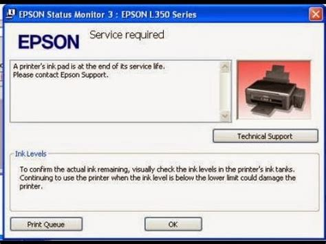 cara reset printer epson l120 series howto reset waste ink pad counter epson l220 เคล ยซ บหม ก