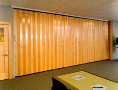 Retractable Room Divider Residential Woodfold Accordion Doors For Your Home Or Business