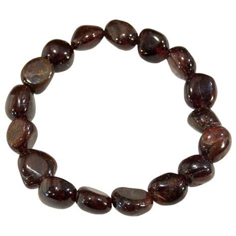 gemstone nugget bracelets garnet 3