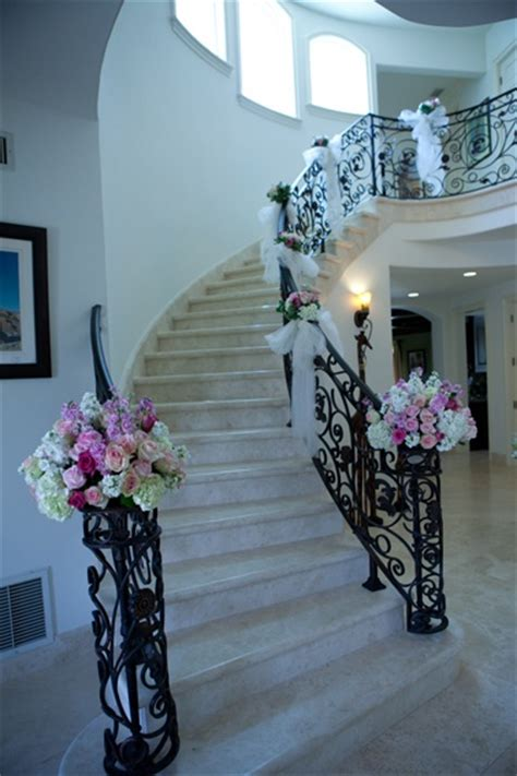 17 best ideas about wedding staircase on wedding staircase decoration tulle wedding