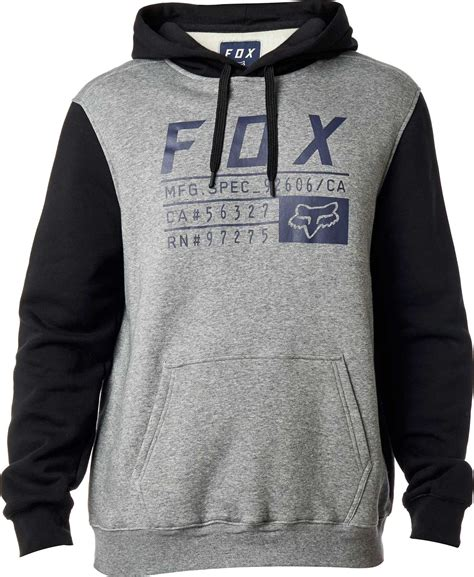 fox motocross sweatshirts fox racing district 3 pullover hoodie fleece sweatshirt