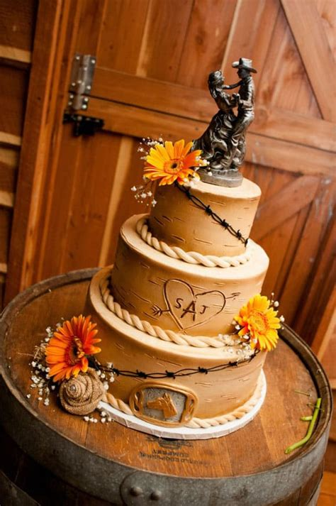 western wedding cakes magazine
