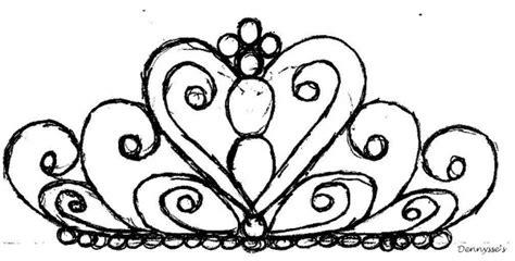 doodle name tiara easy steps to draw tiara search stuff