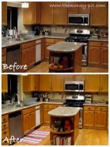 Kitchen Cabinet Before And After by Updating Old Kitchen Cabinets Updating Kitchen Cabinets
