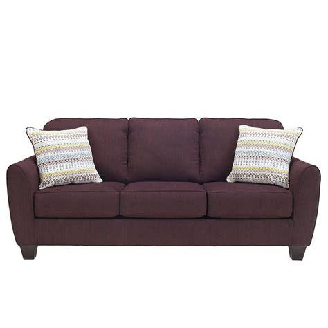 eggplant sectional sofa ean eggplant sofa benchcraft furniture cart