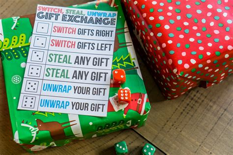 switch steal unwrap gift exchange hilarious to play with your family this rock 95