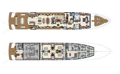 yacht floor plans mega yacht floor plans pictures to pin on
