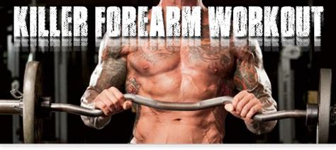 killer forearm workout illpumpyouup