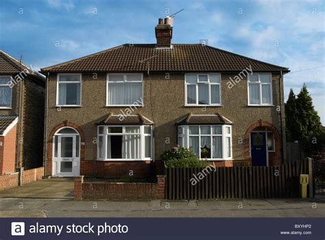 houses to buy in england semi detached houses covered with pebble dash england uk stock photo royalty free