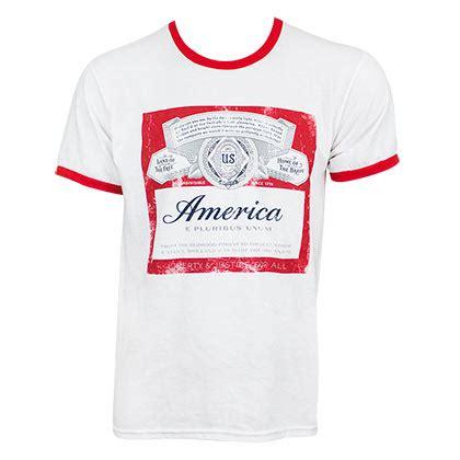 Tees Kaos T Shirt Budweiser budweiser official merchandise gadgets tshirts