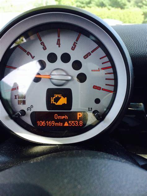 mini check engine light yellow engine light engine power no longer