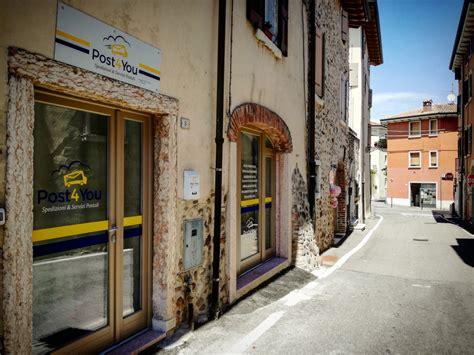 ufficio postale privato nasce a calmasino il primo ufficio postale privato