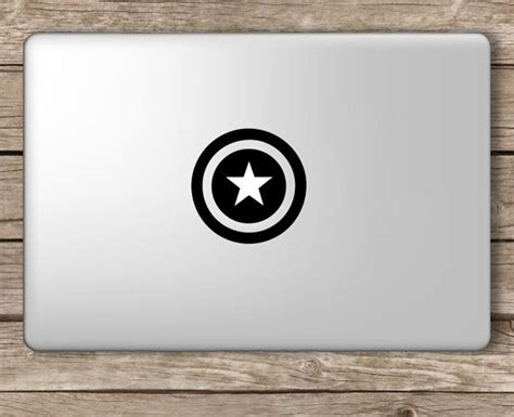 Tokomonster Decal Sticker Apple Iphone Captain America 4 Buah 1 15 best images about apple logo decal on