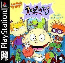 rugrats search for reptar [slus 00650] playstation(psx
