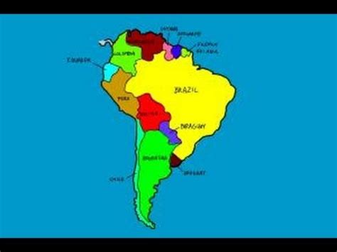 south america map to draw how to draw south america