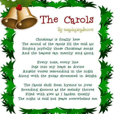 short christmas poems  kids easyday